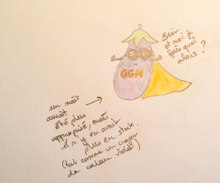 aubergine ogm