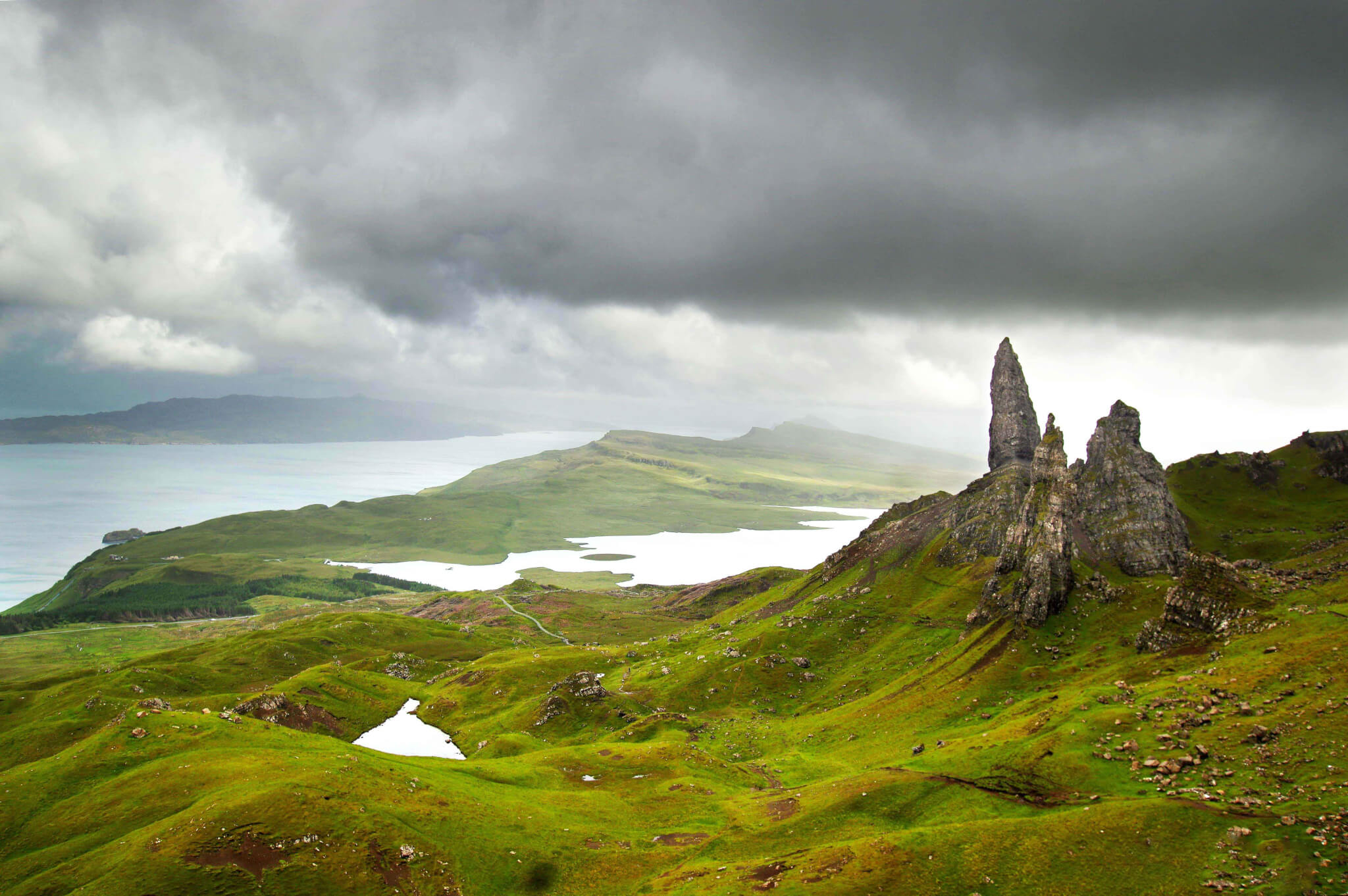 Old Man of Storr - Skye