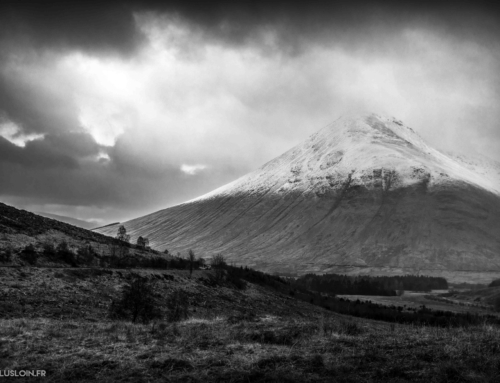On the road to GlenCoe – début de mon road trip hivernal